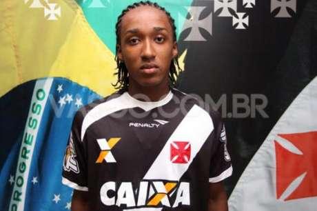 Guilherme Biteco ainda não vingou no profissional. (Divulgação/Vasco)