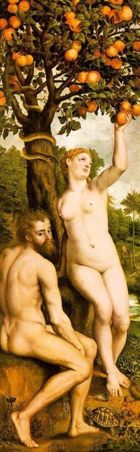 'O pecado original' (Michiel Van Coxcie)