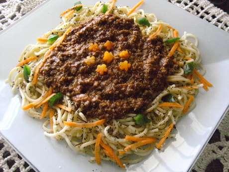 Receita de Espaguete capricho. Enviada por Kaimi Victoria e demora apenas 45 minutos.