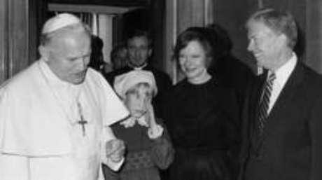 Amy Carter tinha nove anos quando o pai assumiu a Casa Branca