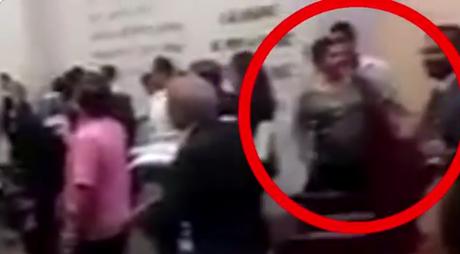 Difunden video para acusar a diputada de Morena de robar un celular