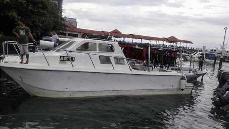 Resgatadas 27 pessoas de embarcação desaparecida na Malásia