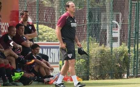 Contra o Audax, em Barueri, o técnico Rogério Ceni fará sua estreia oficial no comando do São Paulo