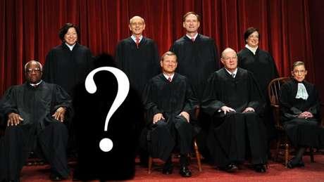 A Suprema Corte dos EUA está dividida entre quatro juízes liberais e quatro conservadores