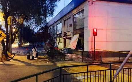 Asaltante muere tras intentar robar un cajero automático en San Joaquín