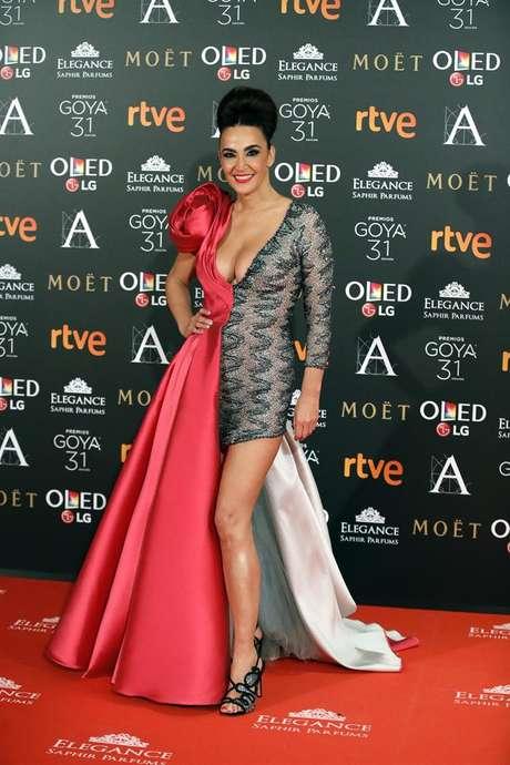 La estilista Cristina Rodríguez