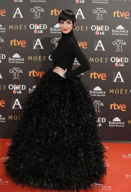 La actriz Paz Vega