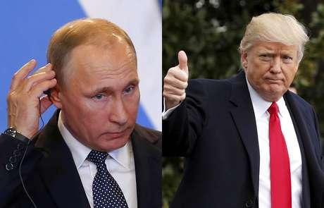 Trump defende Putin e diz querer ajuda da Rússia na luta contra o 'terrorismo islâmico'.