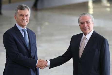 O presidente Michel Temer falou sobre a indicação do novo ministro da Justiça após receber, no Palácio do Planalto, o presidente da Argentina, Maurício Macri