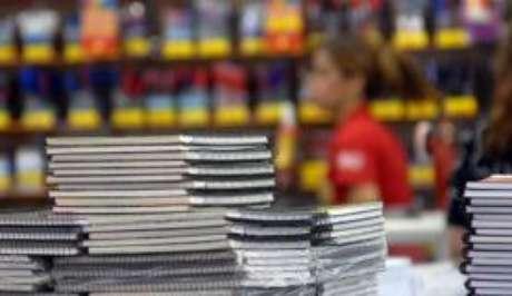 Custo do material escolar subiu 9,31% em 12 meses