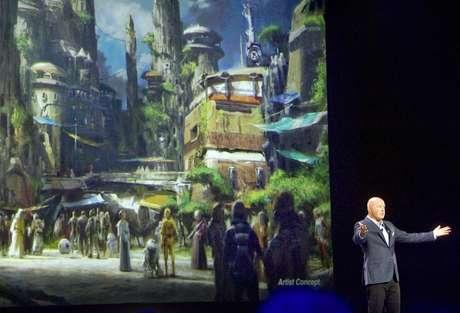 El concepto de la Tierra de Star Wars en los parques de Disney.