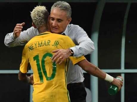 Brasil 2 x 1 Colômbia Eliminatórias da Copa do Mundo (Foto: AFP)
