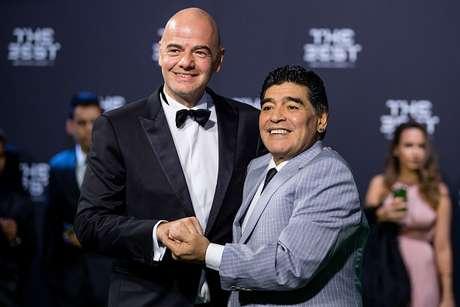 Diego Maradona ocupará un importante cargo en la FIFA
