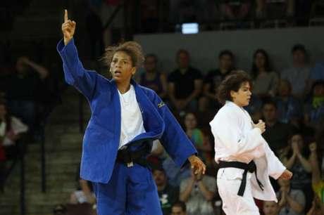 Rafaela Silva estreia neste sábado no Grand Slam de Paris (Foto: Eduardo Viana)