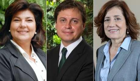 Cristiana Lôbo, Gerson Camarotti e Miriam Leitão: cumplicidade com os fãs na web