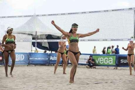Brasil chega às quartas com quatro duplas (Foto: Divulgação/Swatch Major Series)