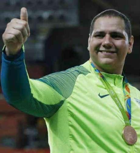 Baby conquistou o bronze na Rio-2016 na categoria acima de 100kg LANCE!