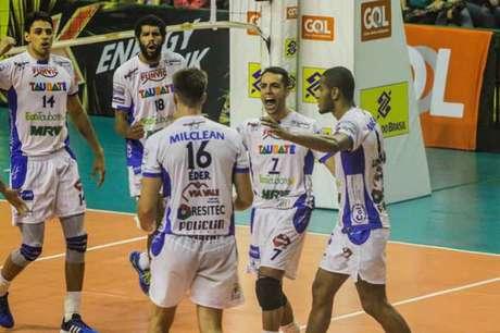 Taubaté segue na terceira colocação da Supeliga; Sada Cruzeiro lidera