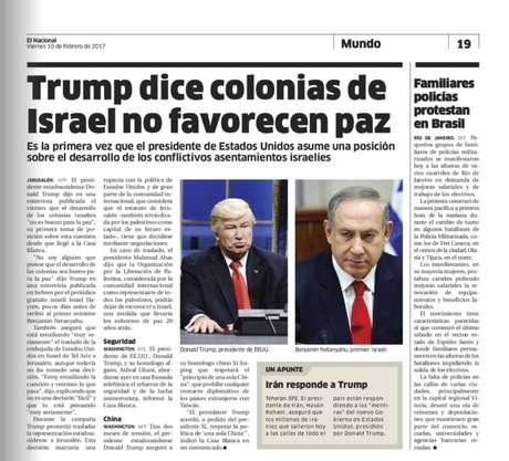 Periódico dominicano publica foto de actor Alec Baldwin como si fuera Trump