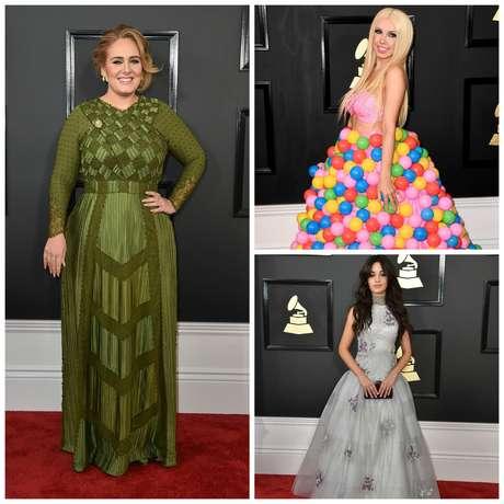 En el Grammy hubo glamour total y crímenes de moda.