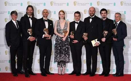 La La Land leva cinco troféus no BAFTA, incluindo melhor filme