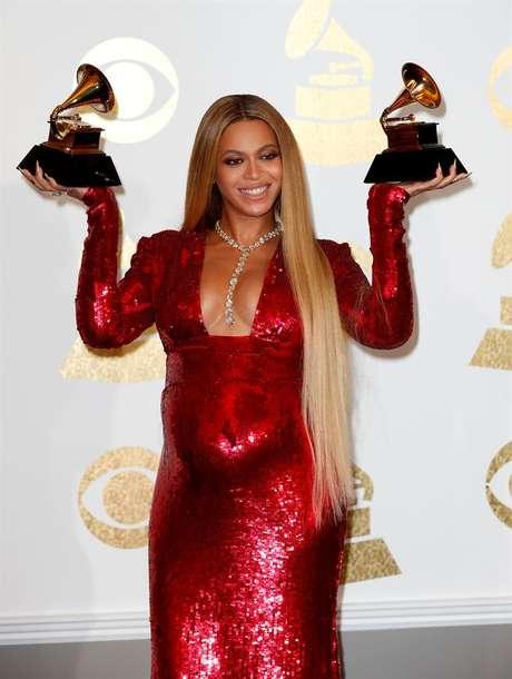 Beyoncé levou os prêmios de melhor álbum contemporâneo, com 'Lemonade' e melhor clipe, com 'Formation'.