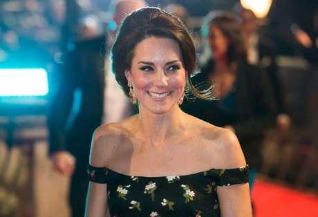 La duquesa de Cambridge lució un vestido de Alexander McQueen