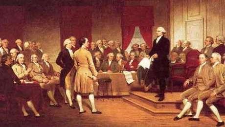 Os constituintes da Filadélfia ( 1787)