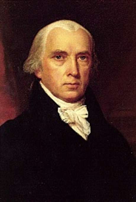 James Madison (1751-1836) , 'pai da Constituição'