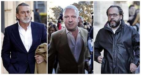 """Francisco Correa, Pablo Crespo y Álvaro Pérez """"El Bigotes"""""""