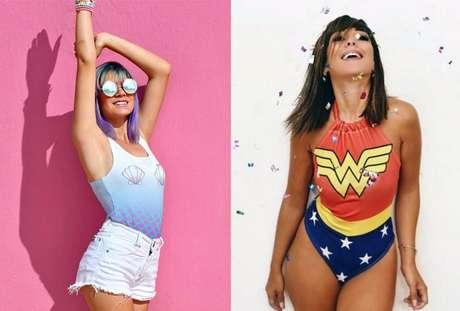 O que você quer ser nesse Carnaval: sereia ou super-heroína?