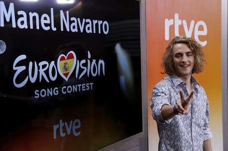 El cantante Manel Navarro