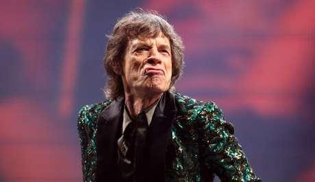 Mick Jagger, líder dos Rolling Stones
