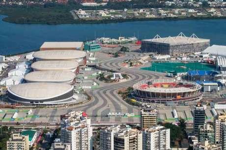 Parque Olímpico recebeu o 'Gigantes da Praia' este ano (Crédito: Reprodução/TV Globo)