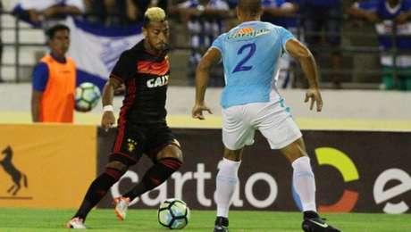 Sport eliminou CSA da Copa do Brasil com goleada de 4 a 1 (Foto: Marlon Costa / Pernambuco Press)