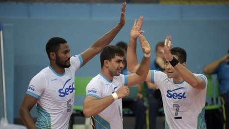 SESC-RJ é a única equipe invicta na Superliga B