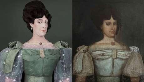Hexavó de Fuchs (esq.), Natividad Martinez de Pinillos Cacho y Lavalle era cunhada de Luis José de Orbegoso, presidente do Peru de 1833 a 1836