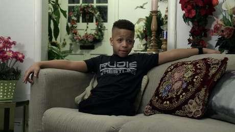 O americano Isaiah Bird tem nove anos e já é um exemplo de superação.