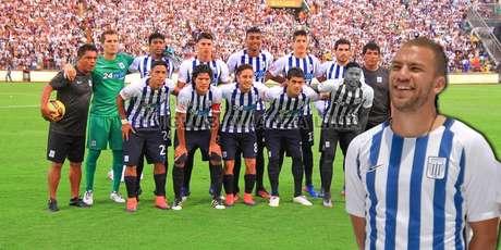 Aurelio Gonzales Vigil es uno de los jales de Alianza Lima