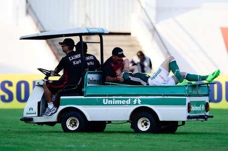 A contusão de Moisés foi o fato negativo do Palmeiras na partida pelo Campeonato Paulista