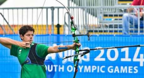 Marcus Vinícius D'Almeida foi prata nas Olimpíadas da Juventude China-2014 (Foto: Divulgação)