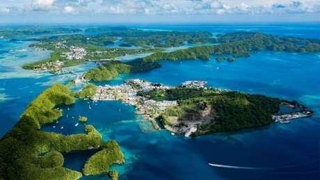 É fácil entender o atrativo turístico de Palau