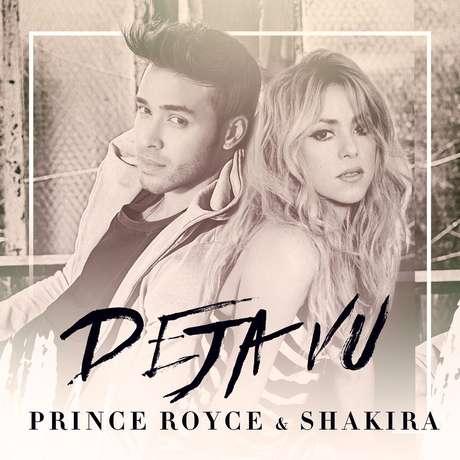 La portada del sencillo de Prince Royce con Shakira 'Deja Vu'.