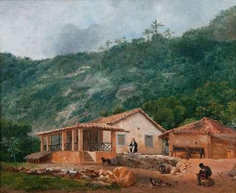 O sítio de Nova Sion, ultima morada do general Hogendorp (1820)