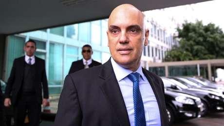Alexandre de Moraes está afastado do Ministério da Justiça enquanto sua indicação ao STF é apreciada pelo Senado