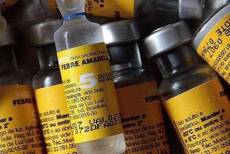 Vacina é a principal forma de combate à febre amarela
