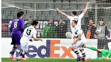 Borussia venceu a Fiorentina (Foto: Vincenzo PINTO / AFP)