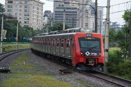 Trem da CPTM (foto de arquivo)