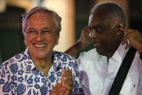 Show de Gilberto Gil e Caetano Veloso no Circuito Batatinha, Pelourinho, Centro Histórico de Salvador (BA), nesta sexta-feira (24)