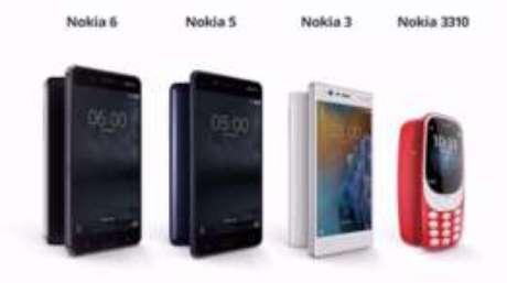 Nokia anunciou outros três modelos de celular com Android na conferência, mas o 3310 roubou a cena